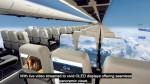 In arrivo il primo aereo senza finestrini, in cui potremo vedere il cielo a 360 gradi