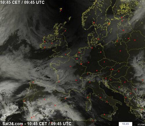 Eclissi solare: il cono d'ombra sull'Europa