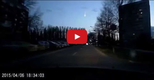Meteorite sorvola i cieli della Slovacchia, il video