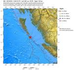 Doppia forte scossa di terremoto nel mondo: M 6.0 Nuova Zelanda, M 6.1 Canada occidentale