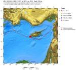 Terremoto oggi a Cipro: magnitudo 5.5 della scala Richter