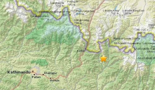 Analisi sismica 11 – 17 Maggio 2015, il terremoto più forte  ancora una volta in Nepal