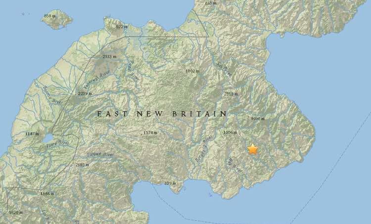 Analisi sismica 27 Aprile – 3 Maggio 2015, il terremoto più forte in Papua Nuova Guinea