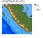 Scossa di terremoto a Sumatra, magnitudo 6.0 Richter, Indonesia