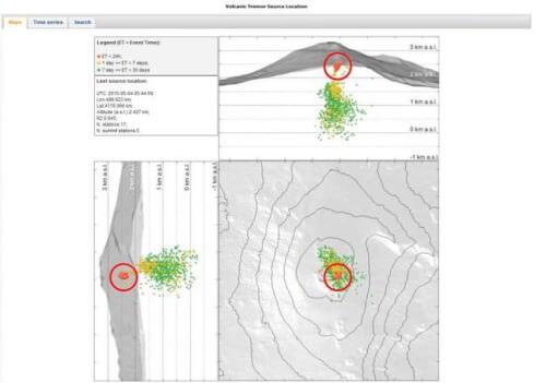 Etna, intensificazione dell'attività sismica nel sottosuolo