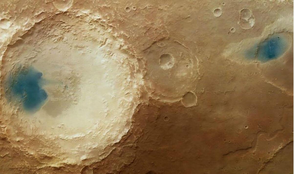 Trovata acqua liquida su Marte? No, si tratta solo della conversione dei colori