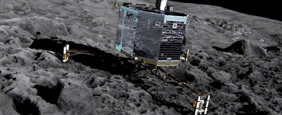 Missione Rosetta: il rover Philae si è risvegliato