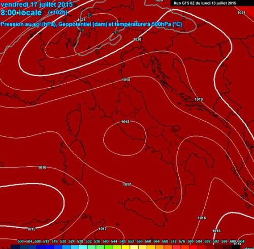Caldo e stabilità sull'Italia, sarà una settimana in compagnia dell'anticiclone sub-tropicale