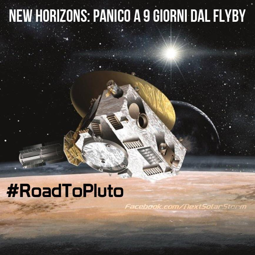 Sonda Horizons, brutte notizie sulla missione, persi i collegamenti