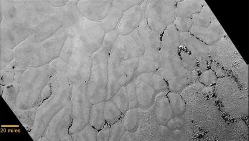 Plutone: New Horizons fotografa immense pianure ghiacciate