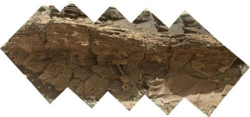 Curiosity scopre e studia una misteriosa roccia su Marte