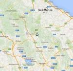 Scosse di terremoto in Umbria, sette eventi di cui due sopra il terzo grado, epicentro a Città di Castello, Perugia