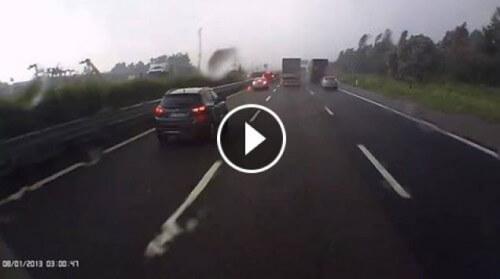 Tornado Veneto: Arpav conferma F4. Video del passaggio sull'autostrada
