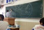 Professore disegna a memoria la mappa del mondo