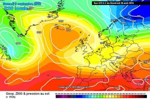 Tendenza meteo: confermata la forte perturbazione ad inizio Settembre, tracollo termico in arrivo