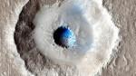 Marte, scoperto un cratere contenente ghiaccio