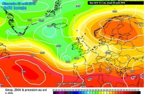 Tendenza meteo: maltempo nel week end poi temperature in aumento