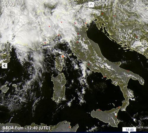 Alluvione-lampo nel Sud della Francia, nelle prossime ore fenomeni anche al Nord Italia