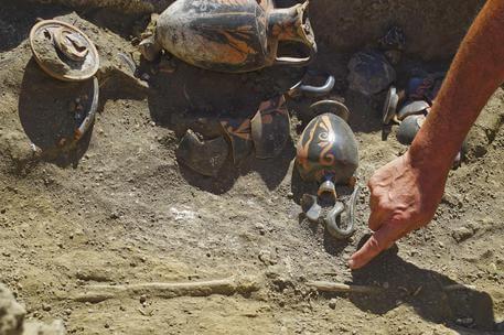 Nuova scoperta archeologica a Pompei, rinvenuta tomba di epoca preromana