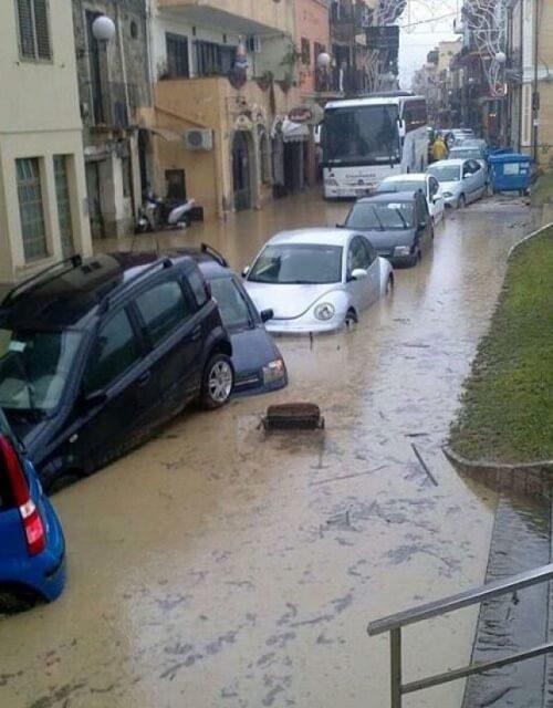 Maltempo Sicilia: alluvione sulla costa Est, caduti oltre 70.000 fulmini