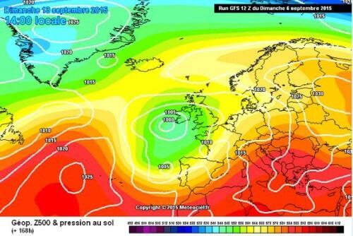 Doppia fase di maltempo in arrivo sull'Italia, la prima al Sud, la seconda al centro-Nord, ma occhio al caldo