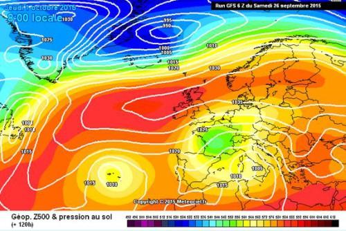 Forte fase di maltempo in arrivo, tracollo termico al Centro-Nord Italia