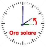 Ora solare 2015: cambio dell'ora tra 24 e 25 Ottobre