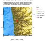 Terremoto in Cile, magnitudo 6.6 della scala Richter, epicentro sulla terra ferma