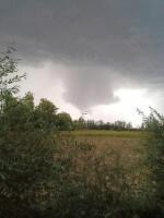 Tornado Veneto: segnalato vortice in provincia di Treviso