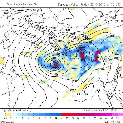 Possibile ciclone mediterraneo in formazione al Sud Italia