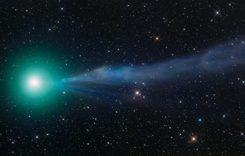 La Cometa Lovejoy rilascia incredibili quantità di alcool