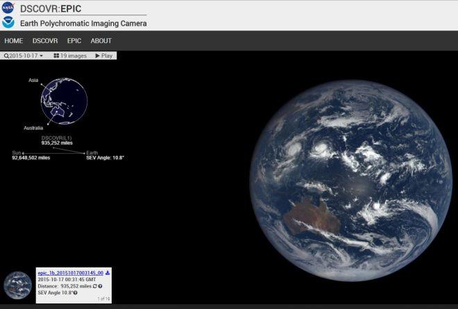 La  NASA ci mostrerà ogni giorno nuove immagini della Terra
