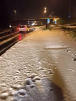 Grandine in Lombardia: fenomeni eccezionali in provincia di Brescia, sembra neve