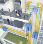 L'ascensore del futuro: a levitazione magnetica e con movimento orizzontale