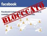 Avete bloccato il profilo di qualcuno su un social network? Ecco cosa vede