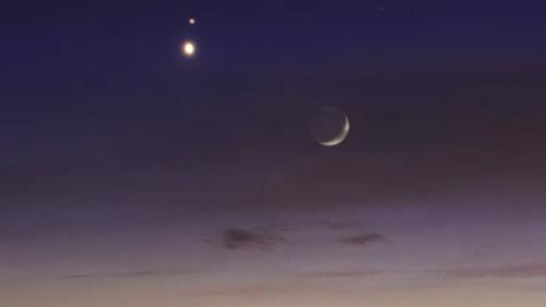 Venere e Marte, come osservare la congiunzione nelle prossime ore