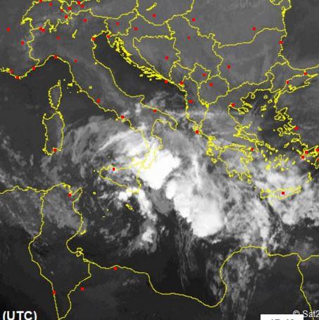Maltempo Sud Italia: nuova pesante fase temporalesca nelle prossime ore