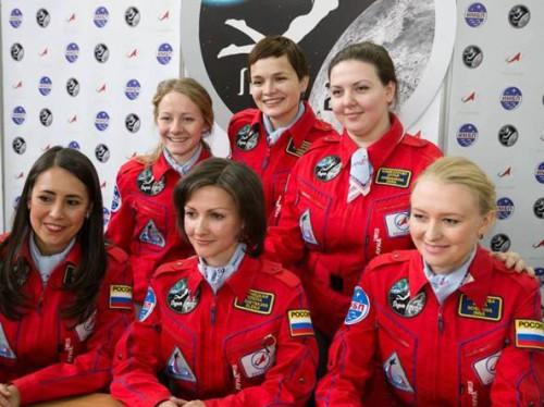 Sono tutte donne e viaggiano verso la Luna