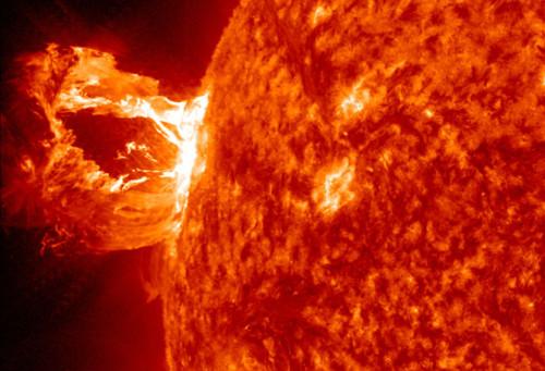 Tempesta solare, le possibili conseguenze sul nostro pianeta