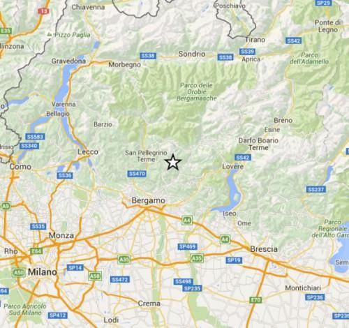 Terremoto Lombardia oggi 28 Novembre 2015