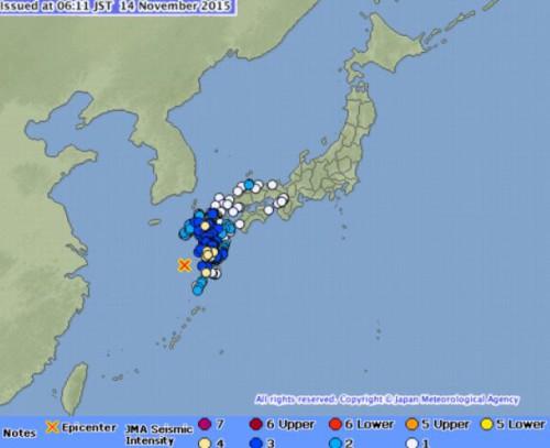 Terremoto Giappone: registrato uno tsunami alle Isole Kyushu