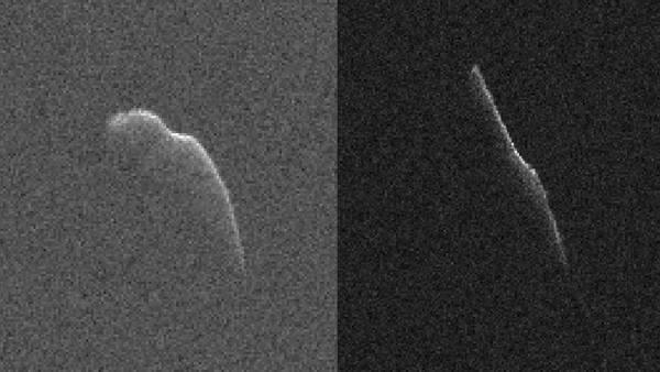 Asteroide di Natale: pubblicata la prima foto