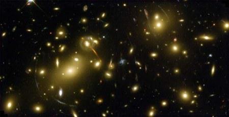 Materia oscura: lo studio sugli ammassi di galassie