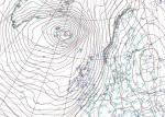 Super-tempesta flagella Islanda e Regno Unito, pressione fino a 928 hPa in mattinata