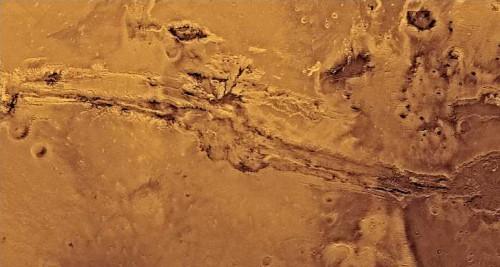 Marte: nella fusione del ghiaccio l'origine dei canali