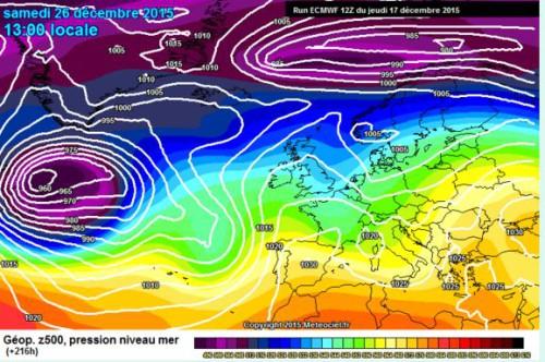 Meteo Natale: tendenza all'insegna di caldo e stabilità, ma non è ancora detto del tutto