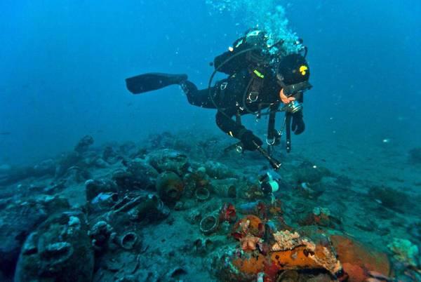Nave romana scoperta ad Alassio, risale al II secolo d.C.