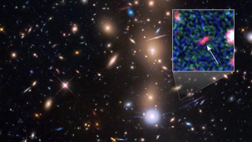 Galassia Tayna, sistema stellare nato dopo il Big Bang