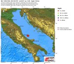 Sequenza sismica in Adriatico: 12 scosse di terremoto nella notte, la più intensa del quarto grado