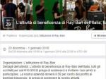 Virus Facebook: come riconoscere il link infetto di Ray-Ban